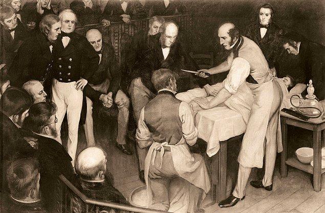 Как лечили людей в XIX веке. 12 иллюстраций, которые по-настоящему шокируют! (12 фото)