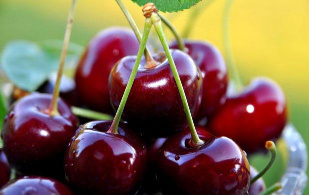 4. Вишня В вишне содержится огромнейшее количество мелатонина, именно поэтому всего горсти ягод буде
