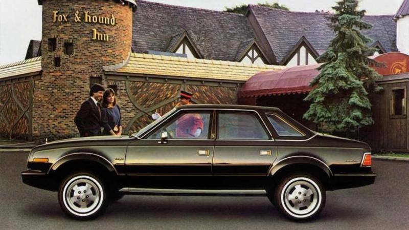 AMC Eagle Sedan '1984 На все свои автомобили АМС предлагала гарантию на год на все детали, кро