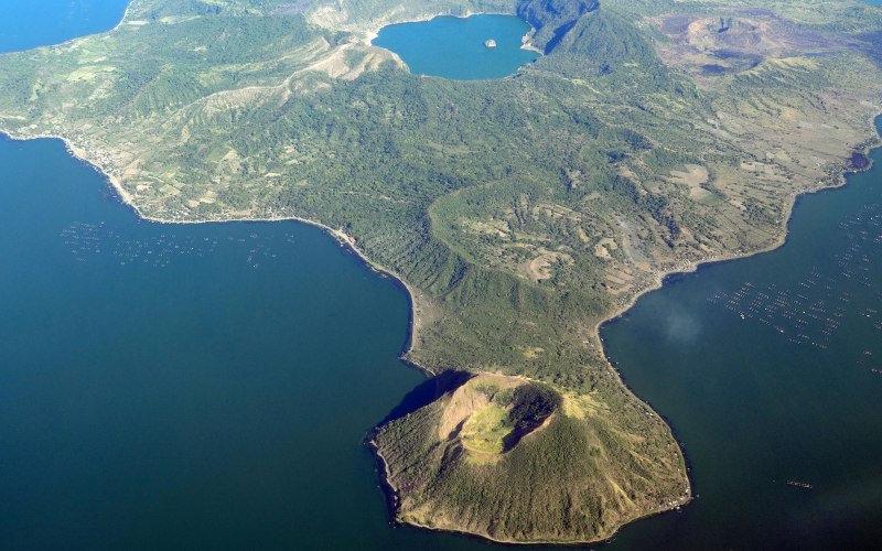 Тааль  Вулкан Тааль пользуется дурной славой, благодаря своим разрушительным и мощным изверж