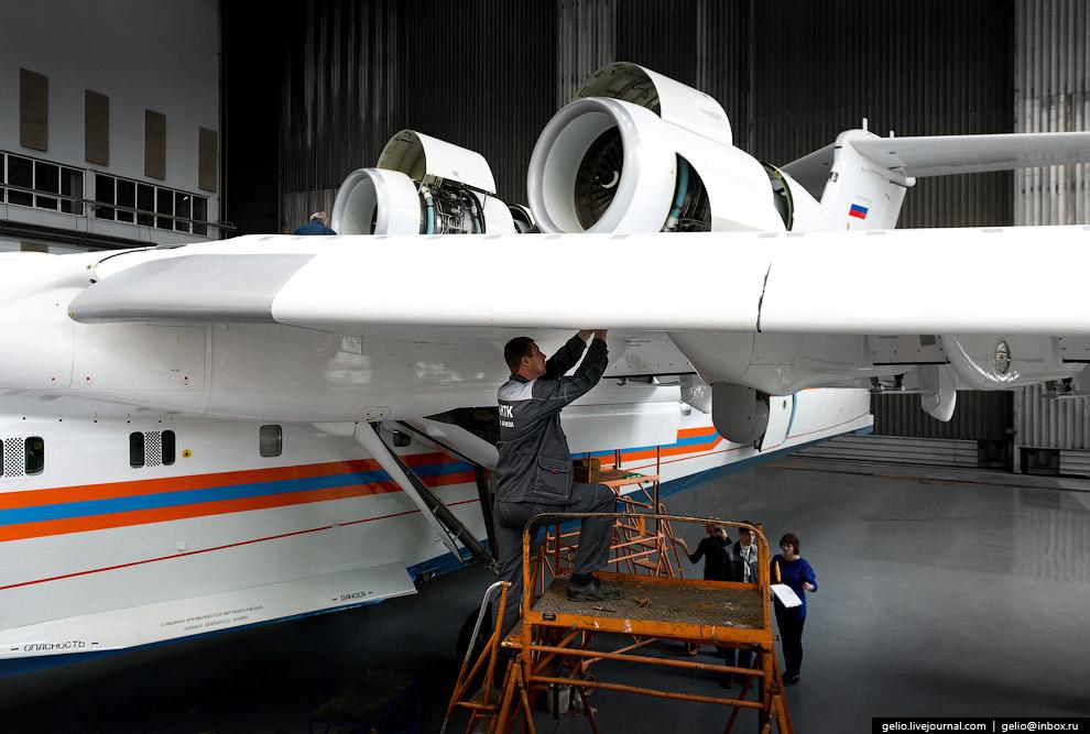 19. Бе-200ЧС практически готов к передаче на лётные испытания.