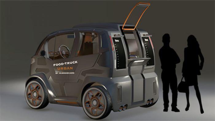 Принципиально новый взгляд на ситикар. Городской автомобиль Mirrow Provocator рассчитан на перевозку