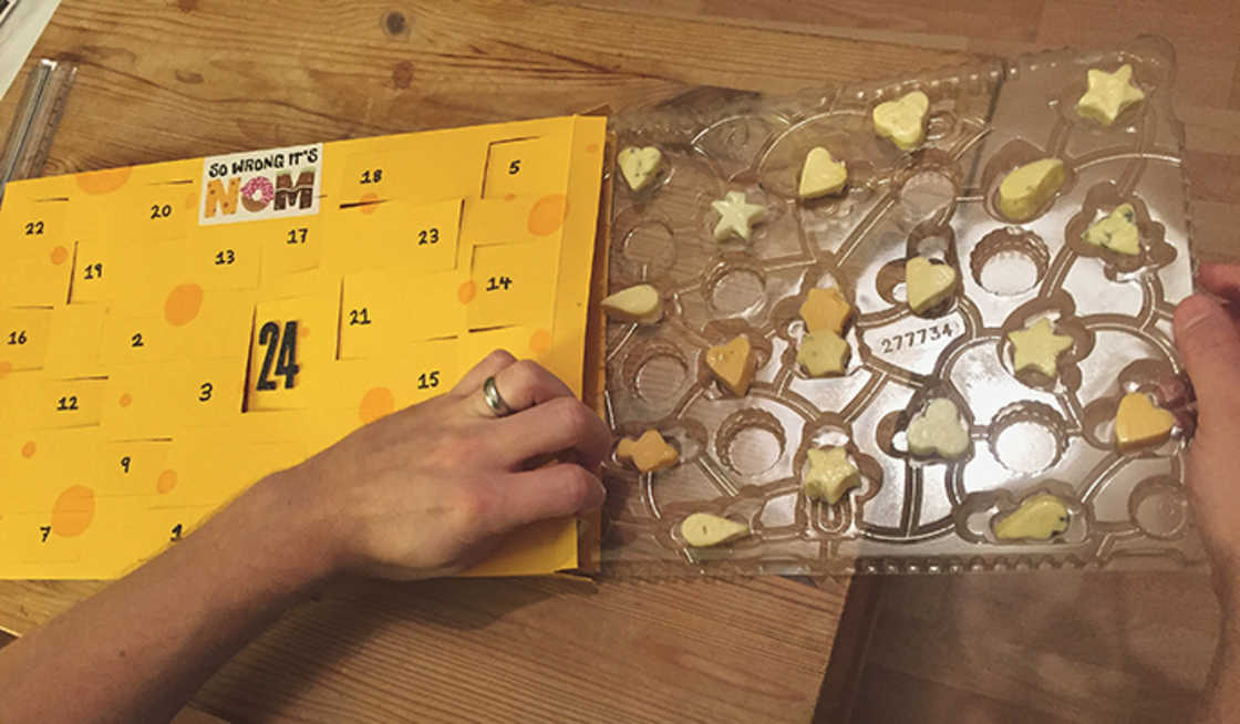 Cheese Advent Calendar - The Advent calendar for cheese lovers