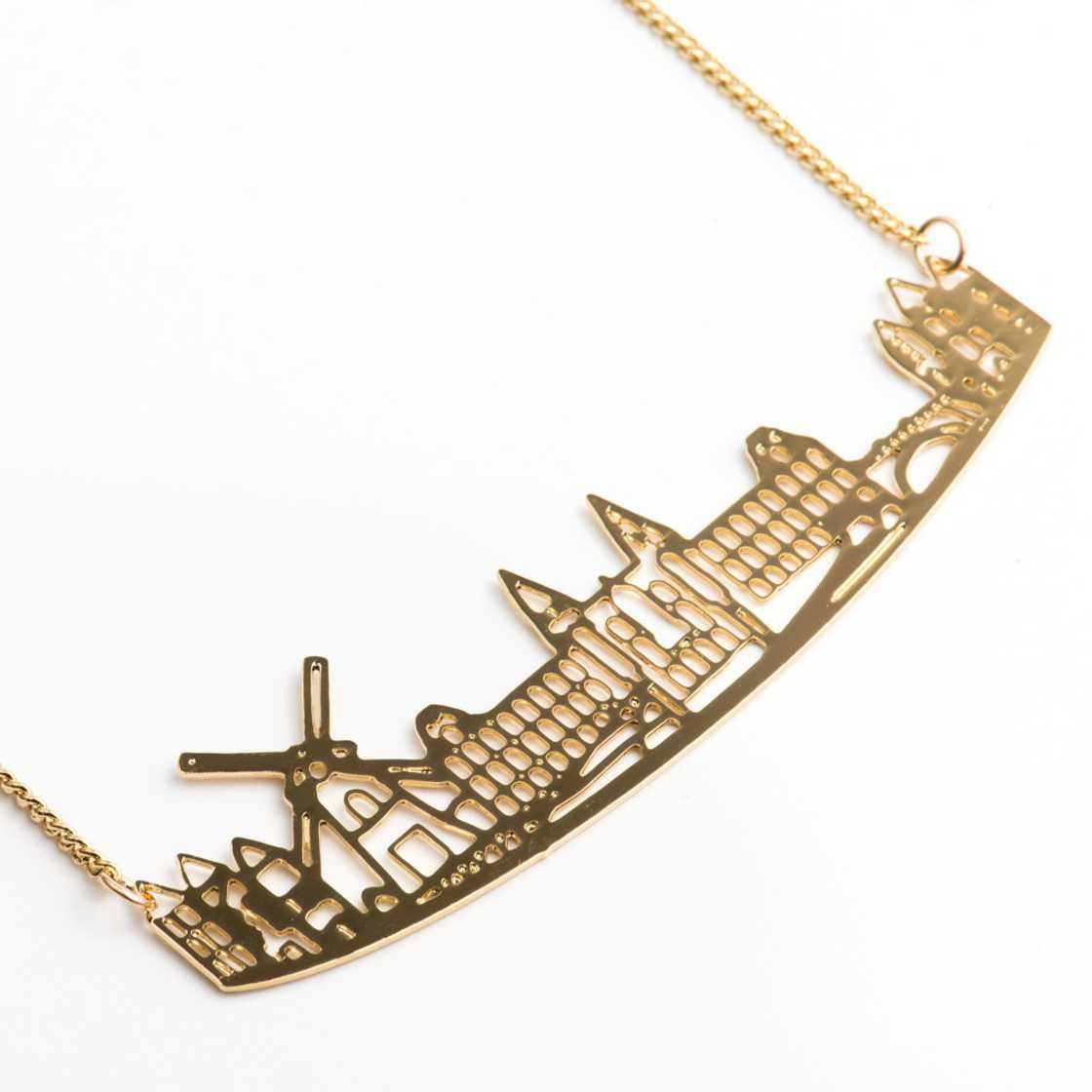 Skylines - Beautiful necklaces in tribute to the major cities of the world