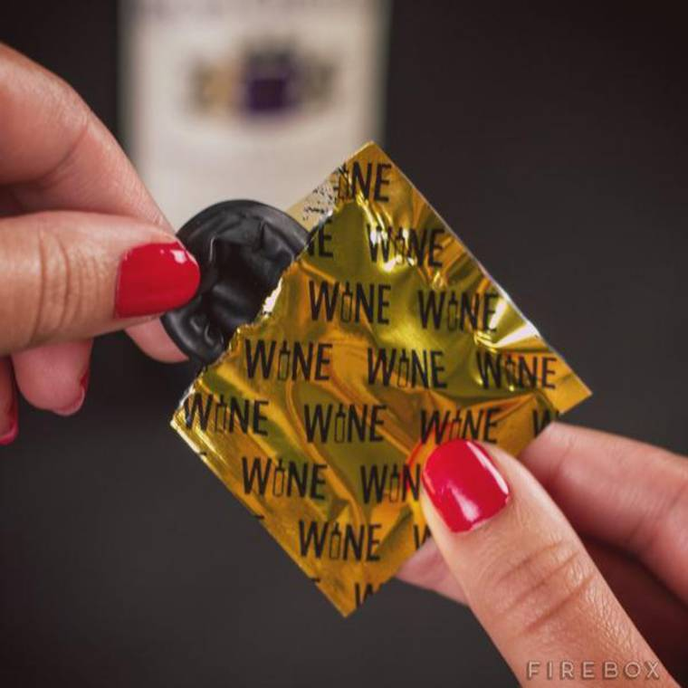 Wine Condoms - Put a condom on your opened wine bottles
