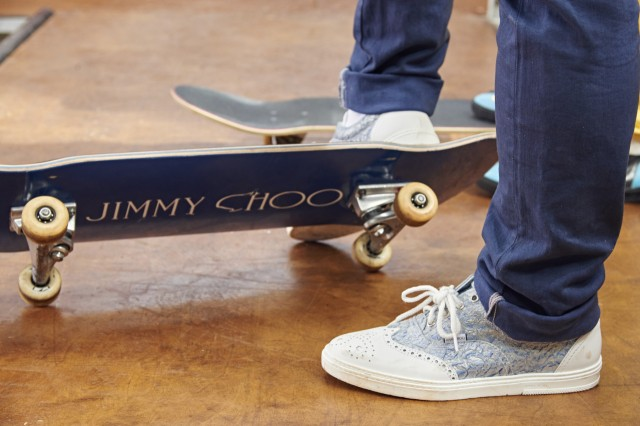 Jimmy Choo Skatepark for His New Men Collection