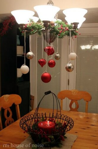 Рождественский декор кухни