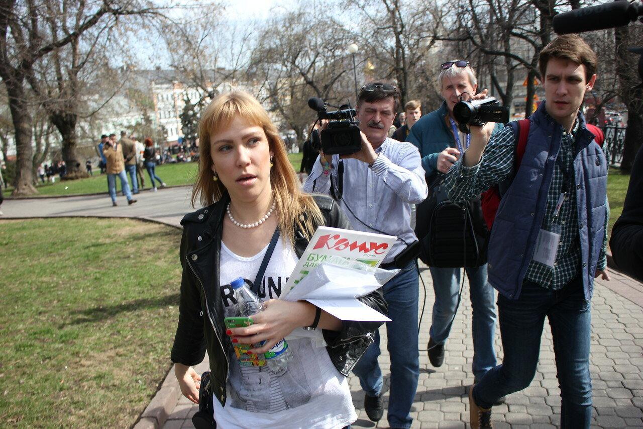 Мария Баронова - координатор движения «Открытая Россия»