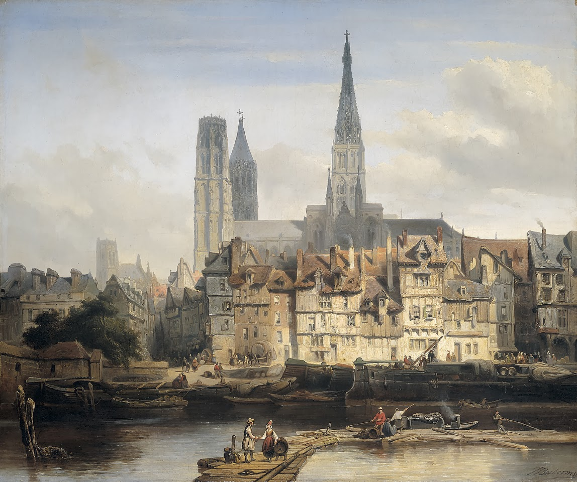 1 bosboom   De_Parijse_kade_in_Rouen.jpg