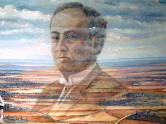 Antonio-Machado-sobre-campos-de-Gormaz-Rafael-de-la-Rosa.jpg