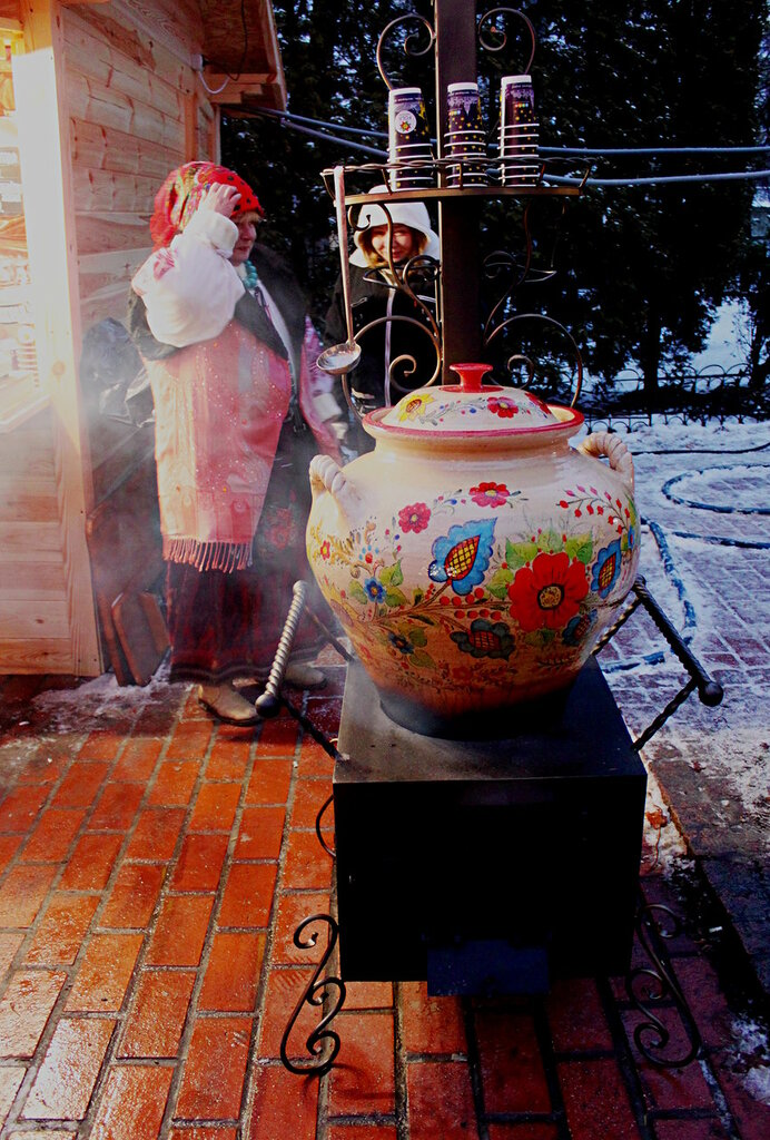Горшок для приготовления горячих напитков