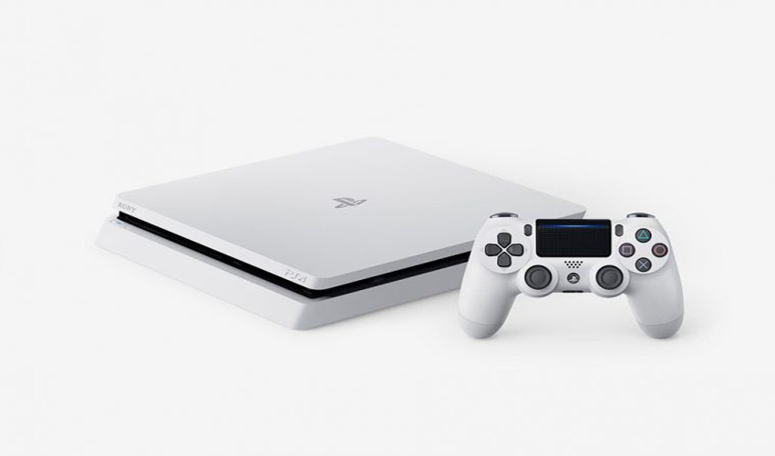 The Glacier White PlayStation 4