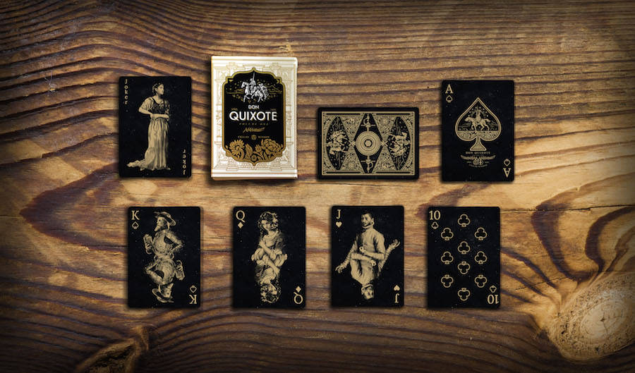 Nice Don Quixote Playing Cards (12 pics)