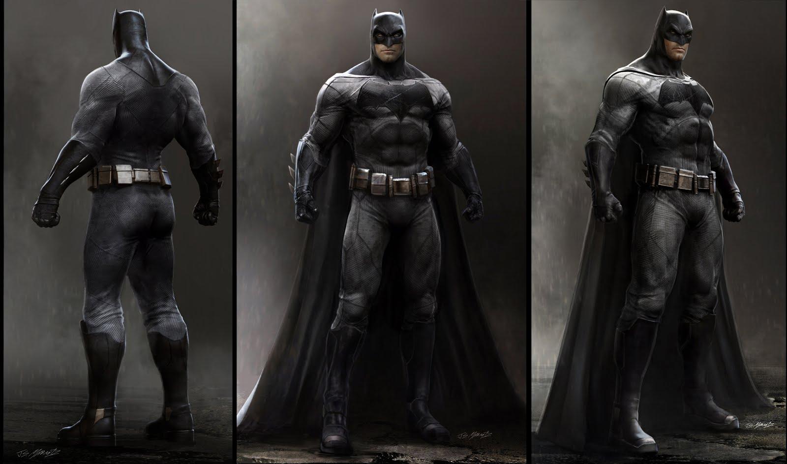 Batman v Superman: Dawn of Justice Concept Illustrations by Jerad Marantz