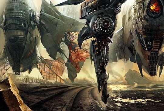 Fantastic Concept Art by Daniel Dociu