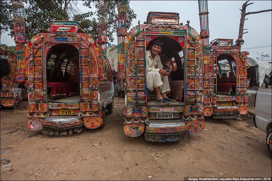 Пакистанские маршрутки