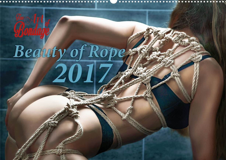 Связанные девушки в календаре Beauty of Rope I - Calendar 2017 / Fine Art of Bondage
