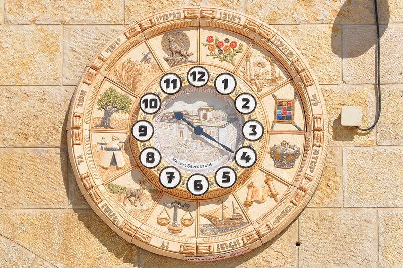 Часы в Иерусалиме