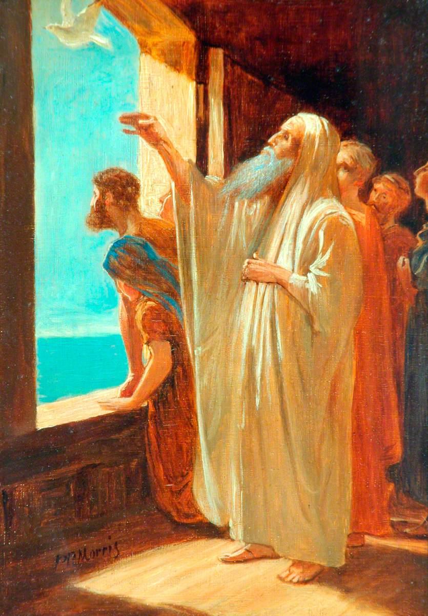 Noah Sending for the Dove