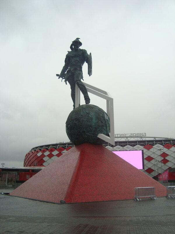 """""""Открытие Арена"""". Статуя гладиатора (2)"""
