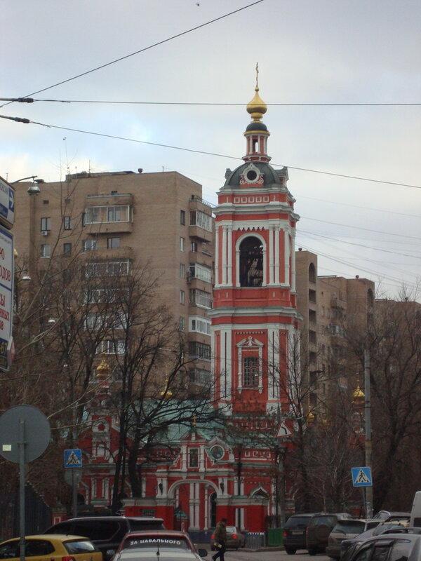 Москва. Церковь святого Пимена Великого в Новых Воротниках