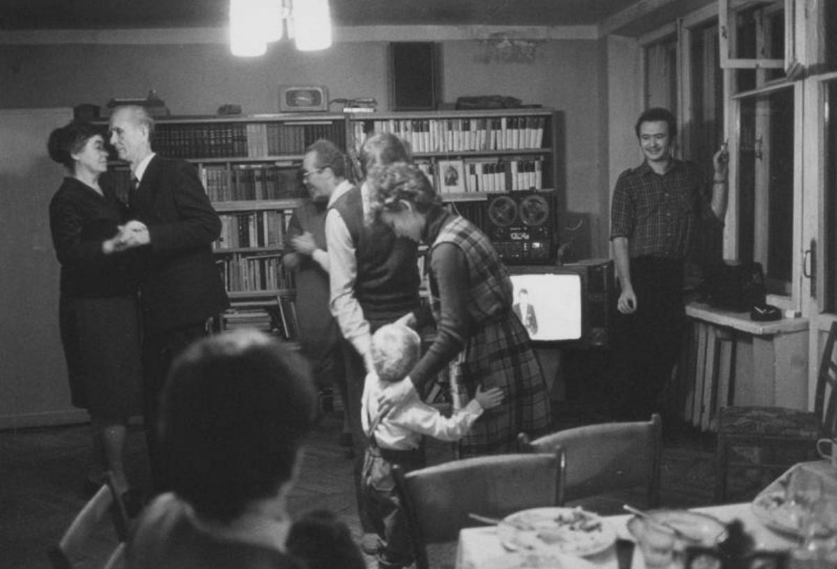 1969. Семейный праздник. Протвино