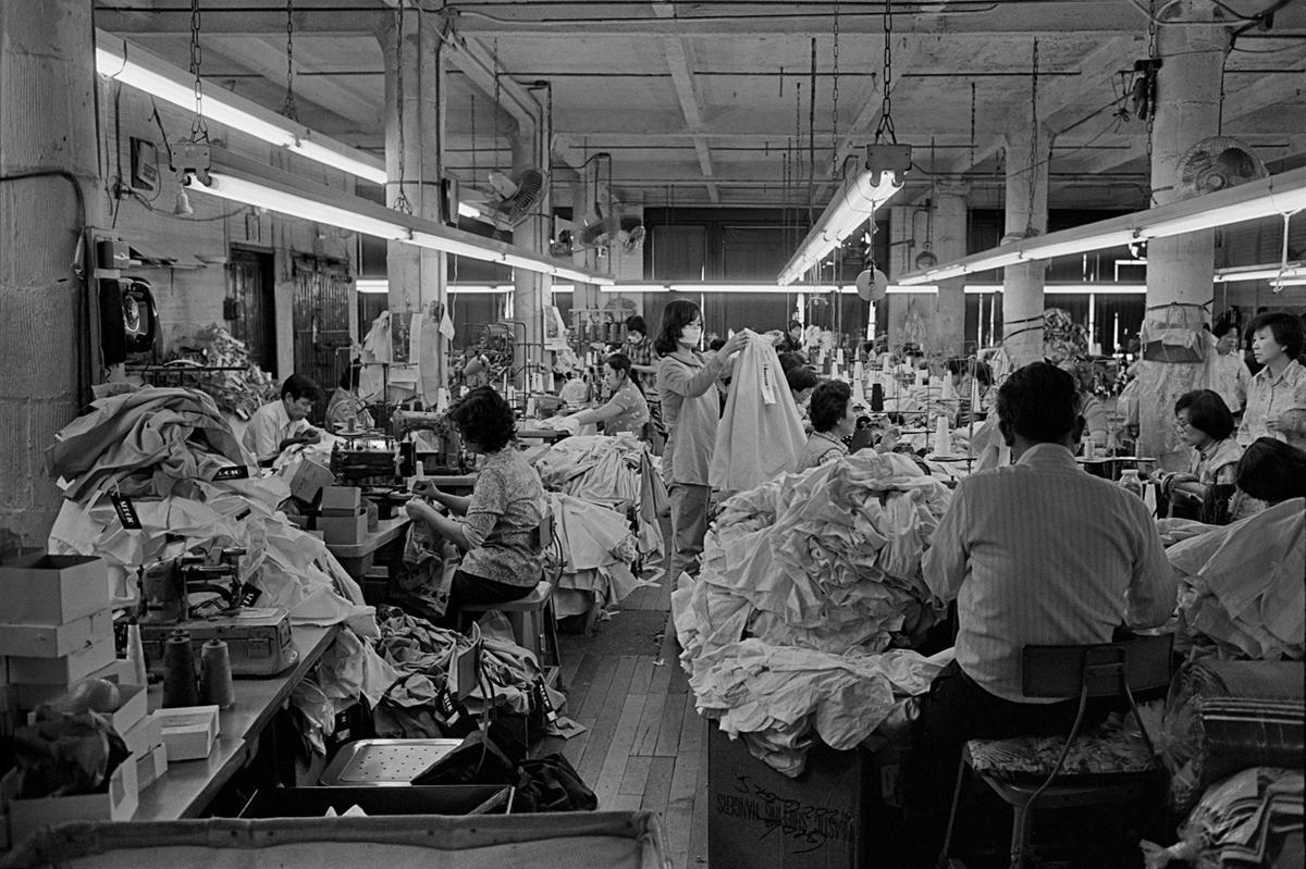 1983. Швейная фабрика