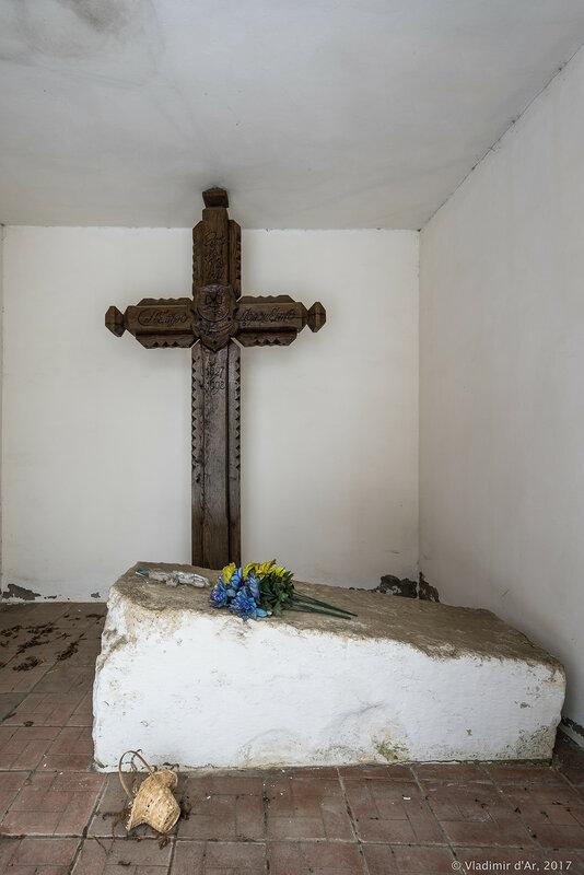 Часовня над могилой гетмана Украины П.Д. Дорошенко. Ярополец.