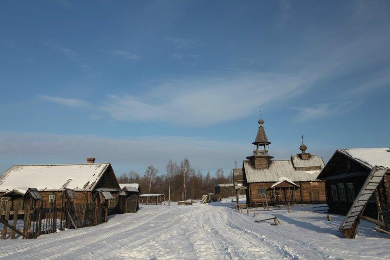 Деревня, где снимался фильм Осенью 41-го
