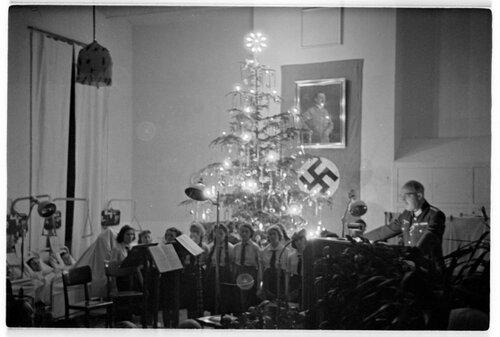 Weihnachtsfeier im Lazarett