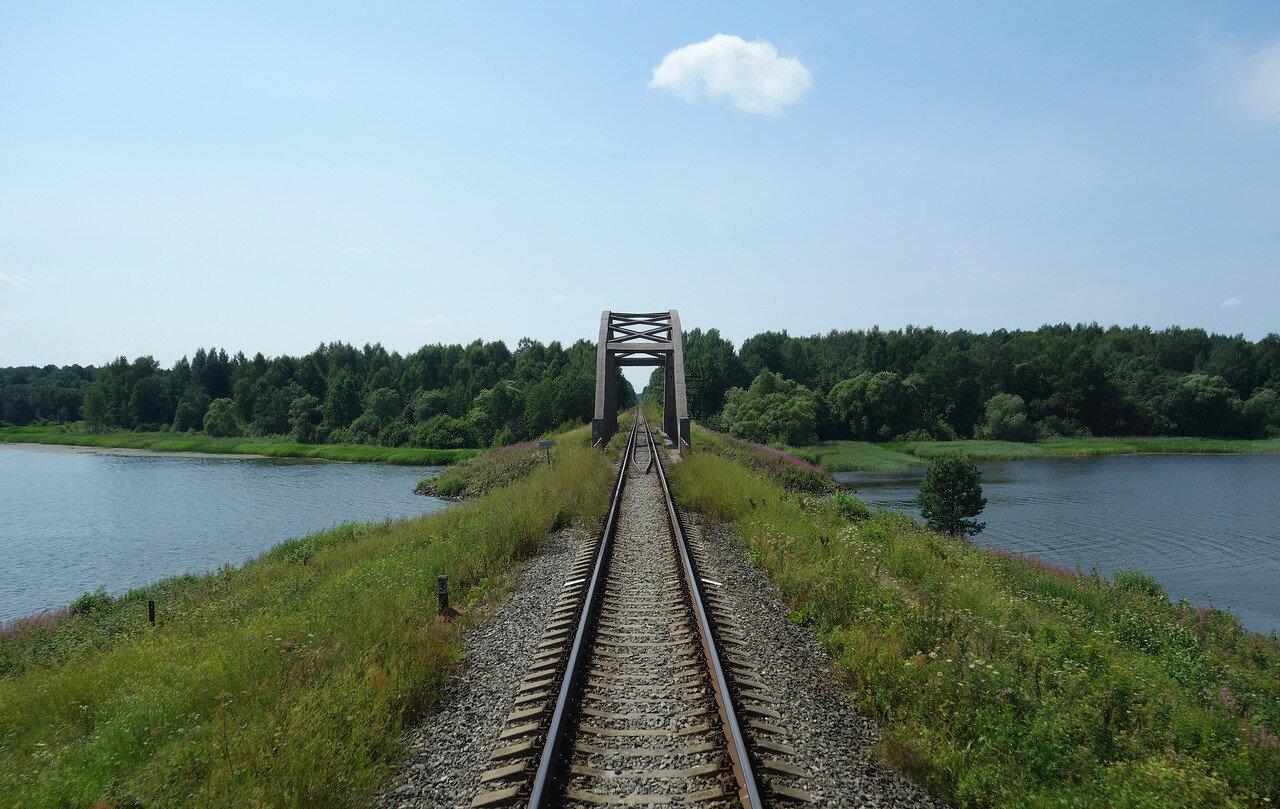 мост Окт. ЖД через р. Волнушка