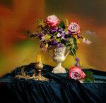 Стихи, как цветы запоздалые...