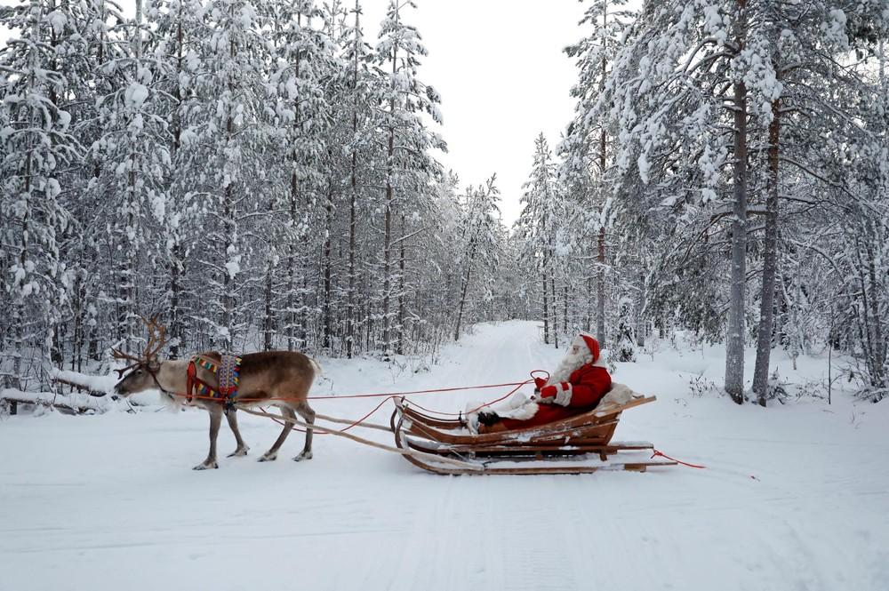 В гостях у Санты в Лапландии