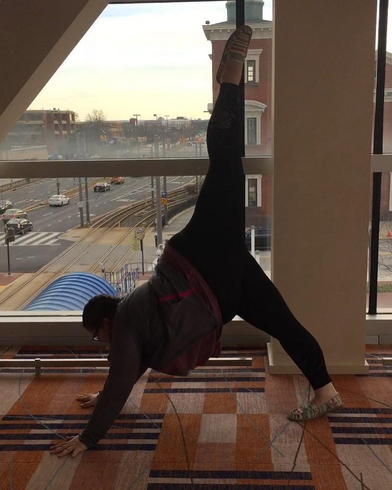 15-летняя балерина с лишним весом стала интернет-звездой