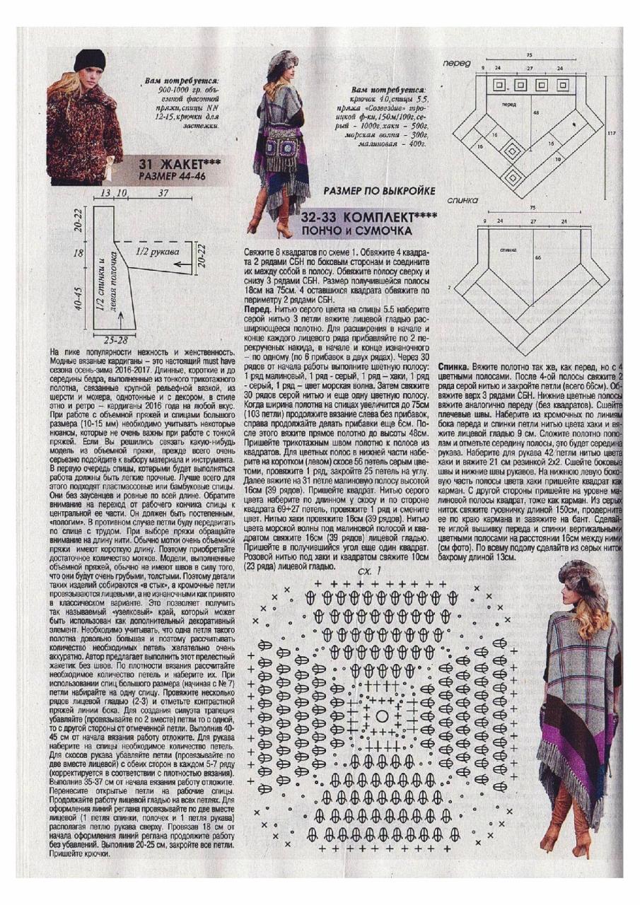 Журнал мод 543 вязание