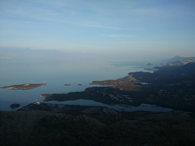 вдоль Скадарского озера - Годинье - Муричи