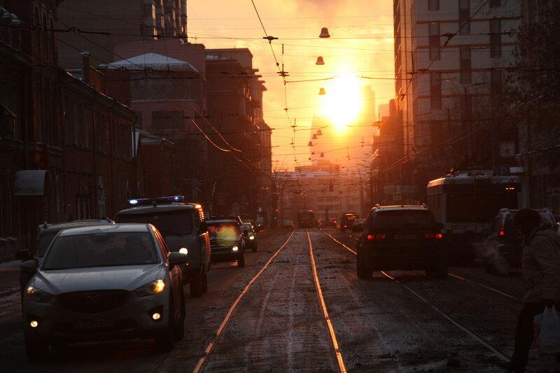 4. Лесная улица - прямо к солнцу, Москва.JPG