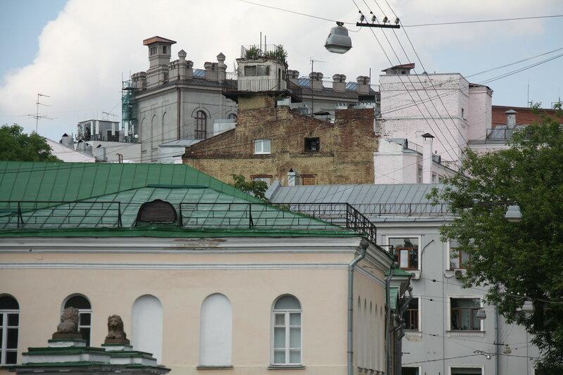 42. Крыши. Армянский переулок, Москва.JPG