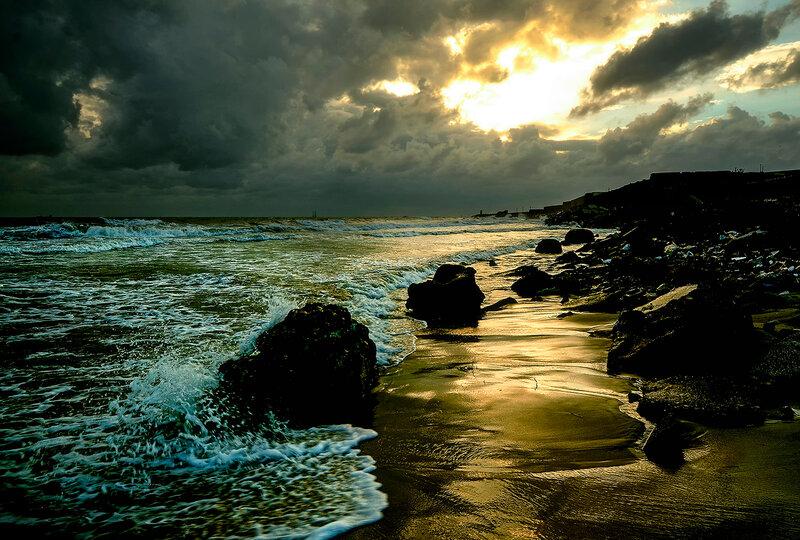 Морской пейзаж, душевная свобода