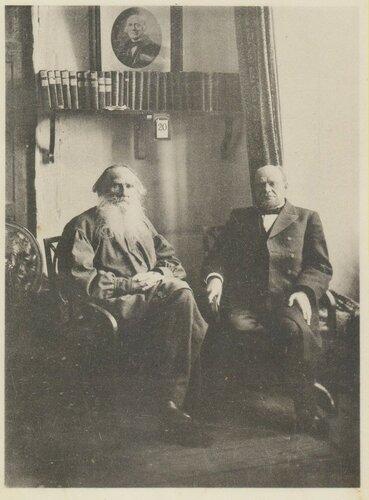 Л.Н. Толстой и А.Ф. Кони..jpg