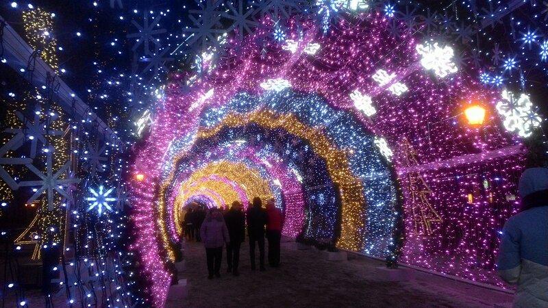 Новый Год на Тверском бульваре