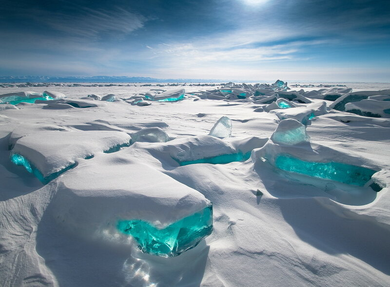 Лёд байкала1