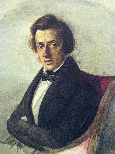 Фредерик Франсуа Шопен, великий польский композитор