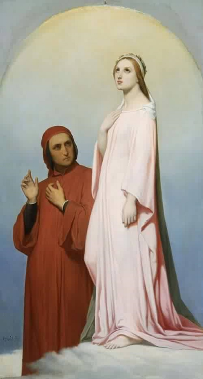 Эта платоническая любовь продлилась 7 лет. Беатриче умерла в 1290 году. Родственники поэта думали, ч