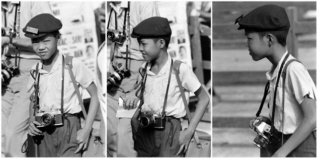 Пожалуй, это одно из самых необычных и пугающих зрелищ — фигура маленького мальчика, пробирающегося