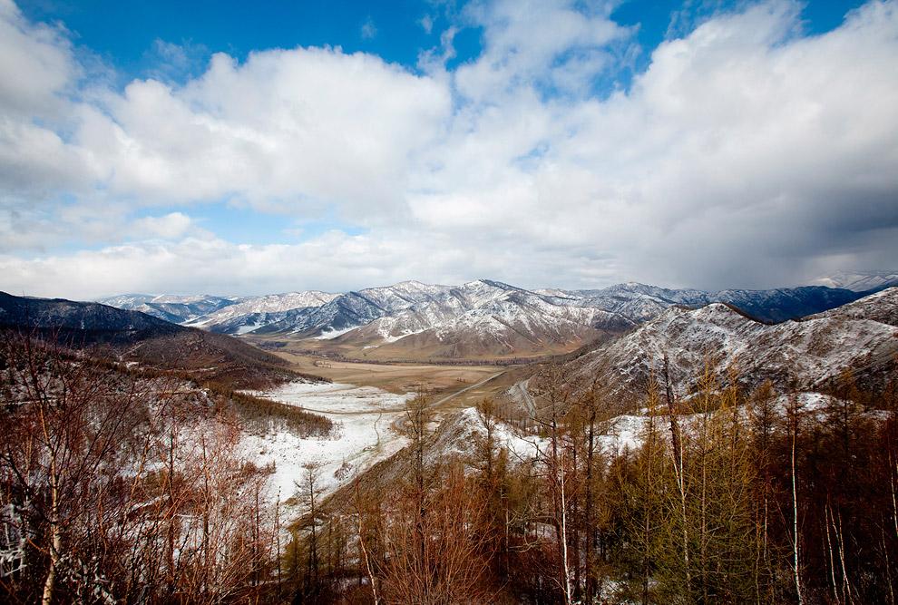5. Фотограф Александр Симушкин рекомендует для съемок Семинский перевал (573-й км тракта. — Н.Г