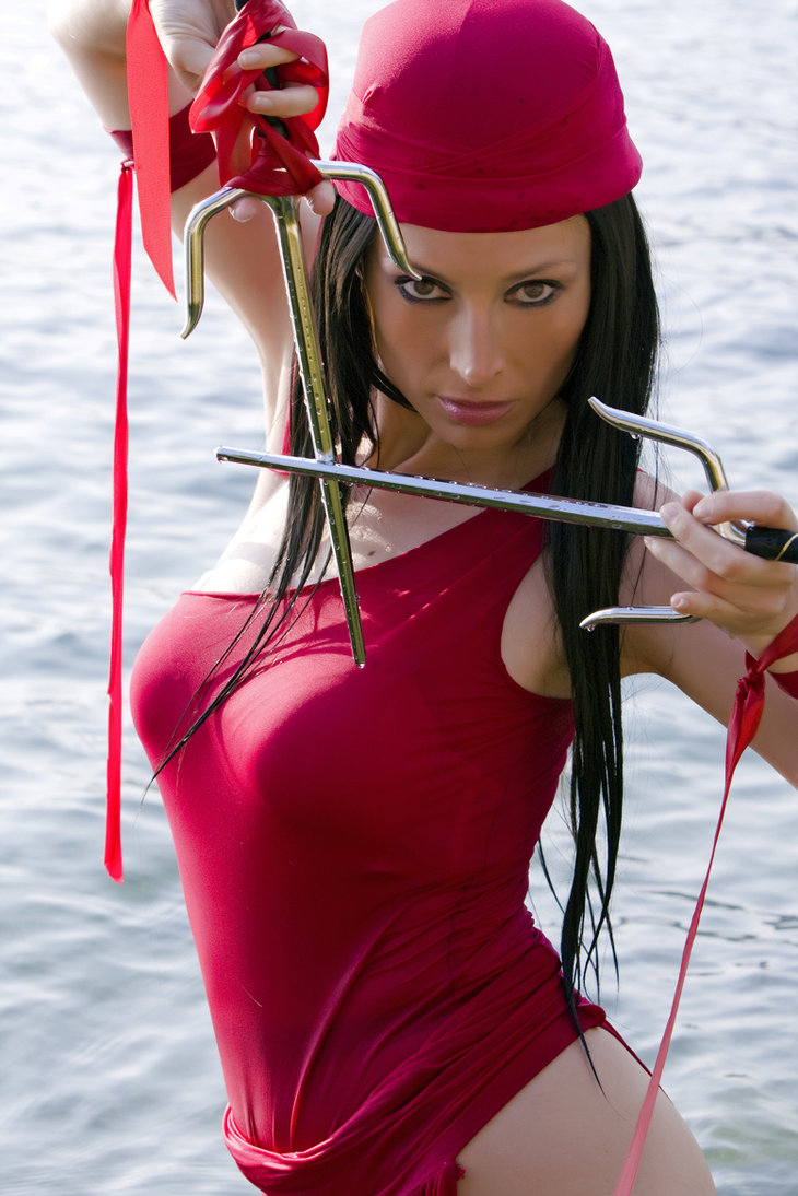 Самая сексуальная косплейщица Италии