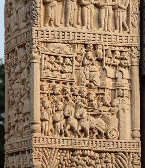После смерти Александра Македонского вся Индия и бо?льшая часть прилегающей территории была заво