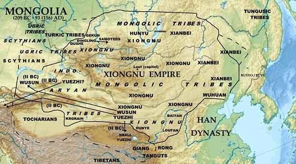 В период IV-III в.в. до н.э., то, что в конечном счёте стало Китаем, состояло из нескольких враж