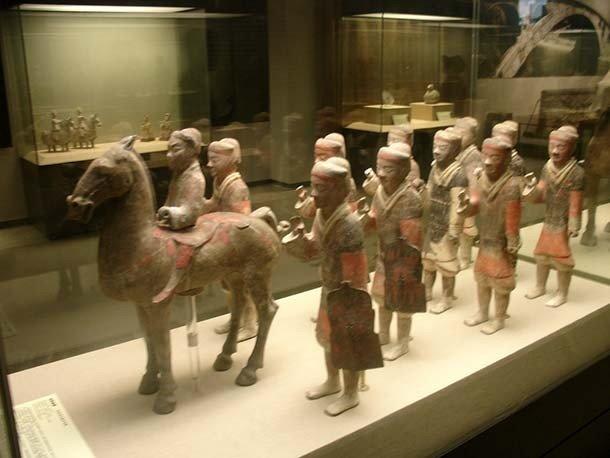 Если говорить о династиях Хань, то династия Западная Хань достигла пика своего расцвета примерно